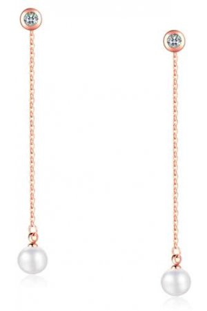 Cilla Jewels oorhangers Rose Pearl